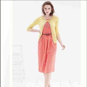Anthropologie women's postmark midi striped dress